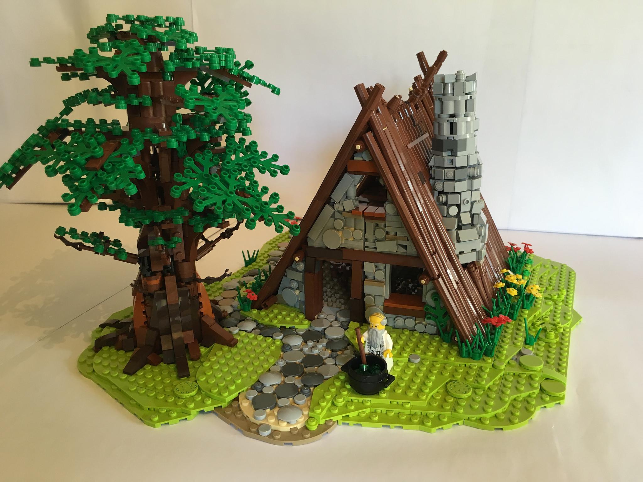 MOC - La maison d'Asterix
